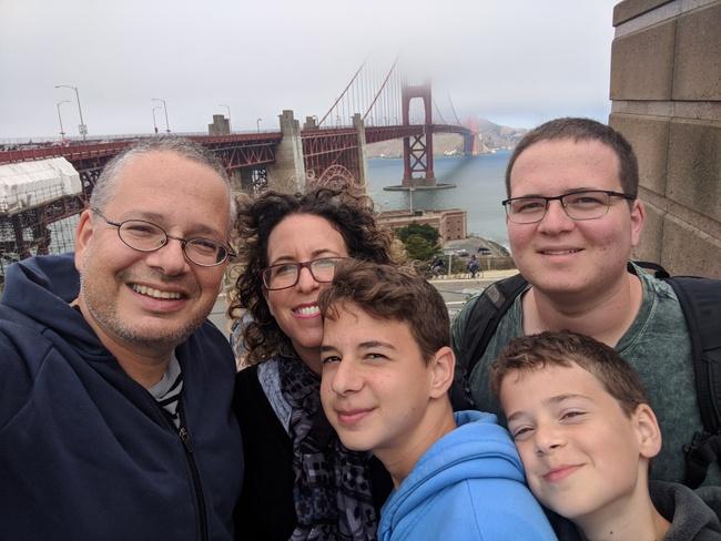 טיול עם מתבגרים בסן פרנסיסקו