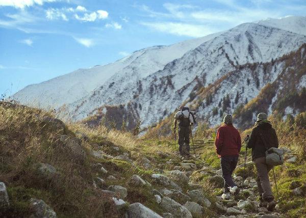 טרקים בגאורגיה מסטיה