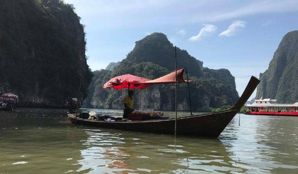 סירת לונג טייל האיים תאילנד