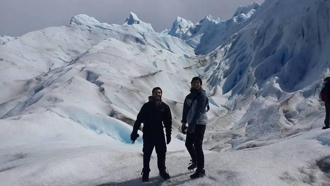 פריטו מורנו הקרחון המתנפץ