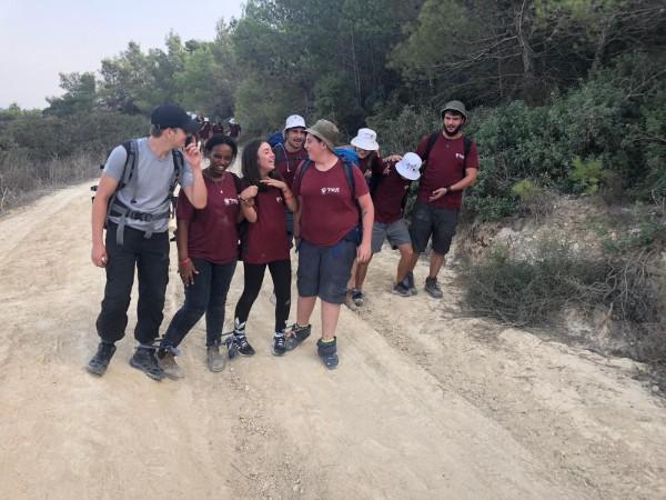 מסע משצים על שביל ישראל