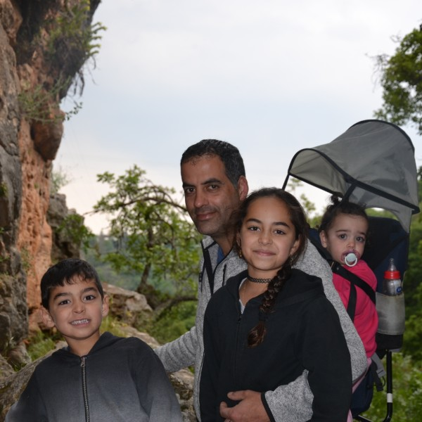 נחל קדש מסלול משפחות בפסח