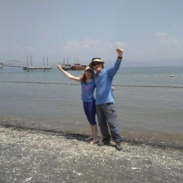 סיום מסע מים לים בכנרת