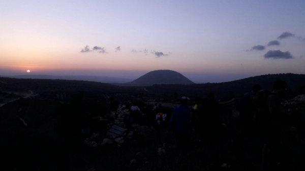 שביל ישראל הר תבור