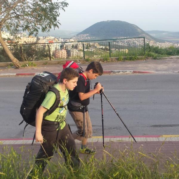שביל ישראל עם ילדים