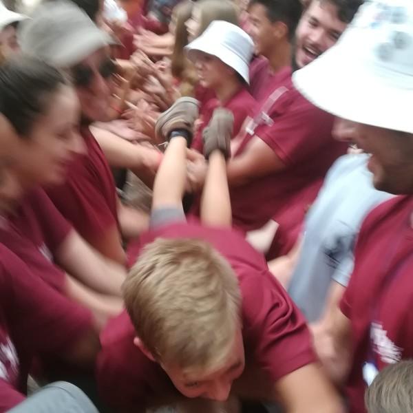 שביל ישראל עם תלמידים